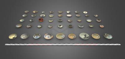 Тарелки и миски 18го — начала 19го века